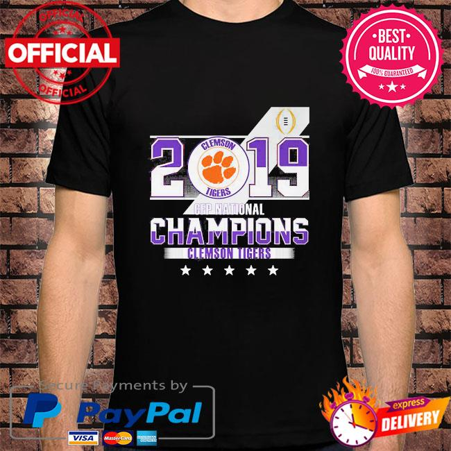 Clemson Tigers 2019 cfp national champions shirt