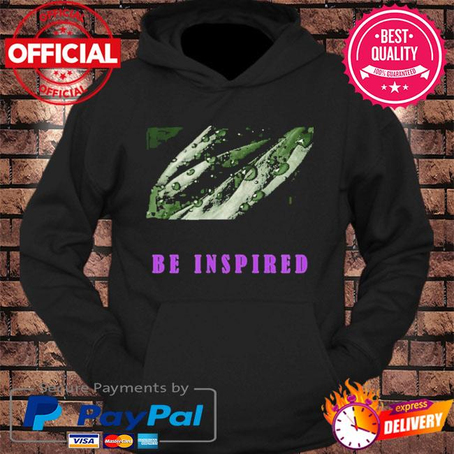 Be inspired s hoodie Black