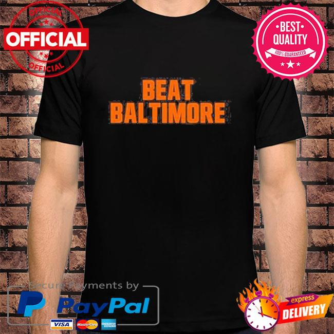 Beat baltimore cleveland football fan shirt