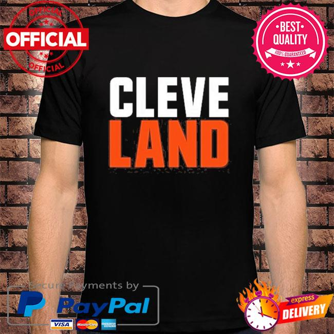 Cleveland colors football fan shirt