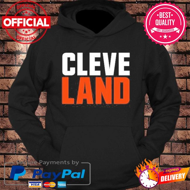 Cleveland colors football fan s hoodie Black