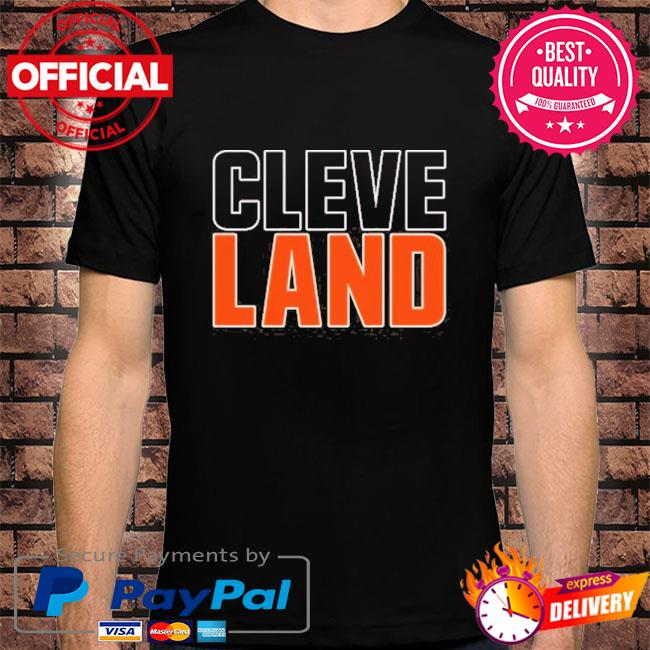 Cleveland colors football fan v3 shirt