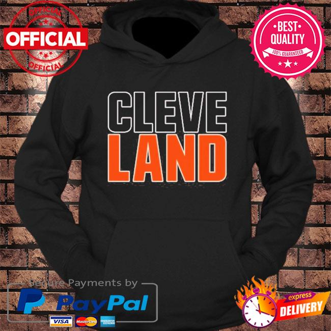 Cleveland colors football fan v3 s hoodie Black