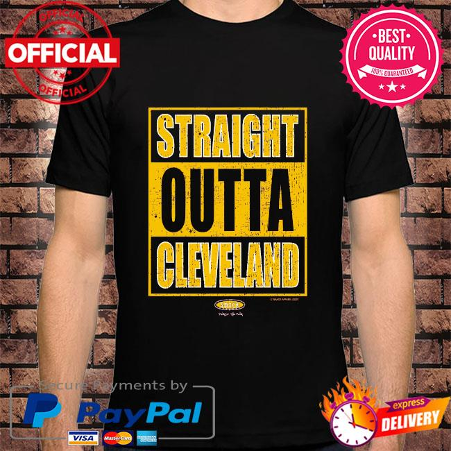 Cleveland pro basketball apparel shirt