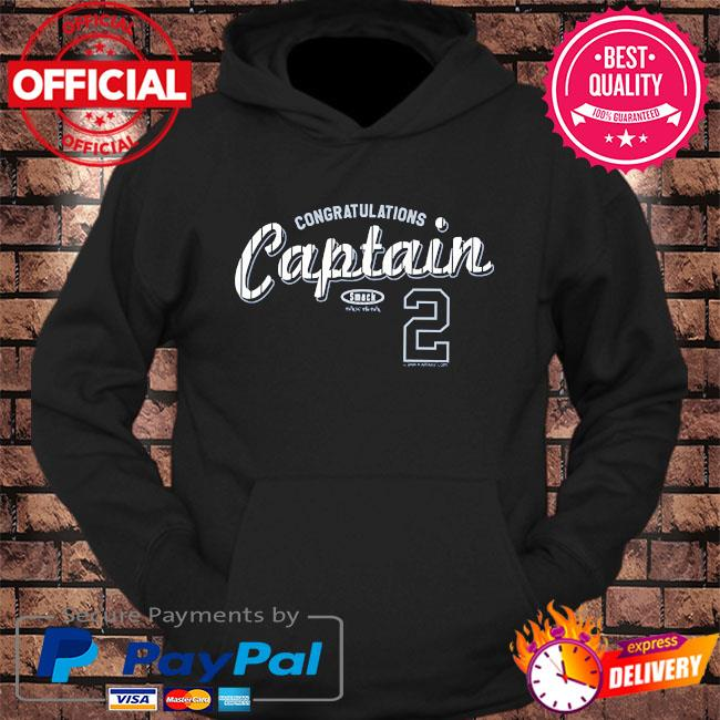 Congratulations captain #2 nyy s hoodie Black