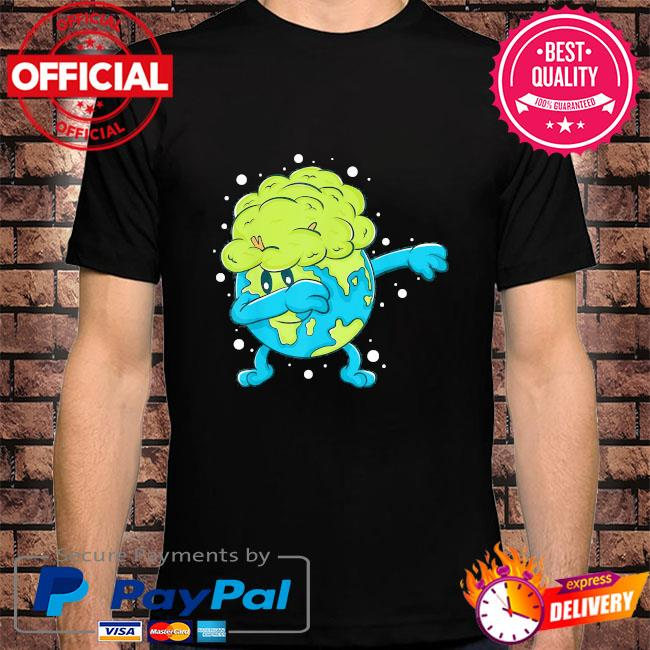 Dabbing earth cool earth day shirt for kids and toddlers shirt