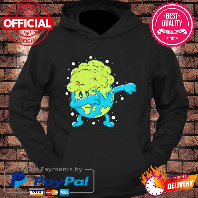 Dabbing earth cool earth day shirt for kids and toddlers s hoodie Black