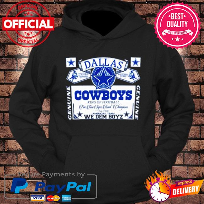 Dallas Cowboys we dem boyz s hoodie Black