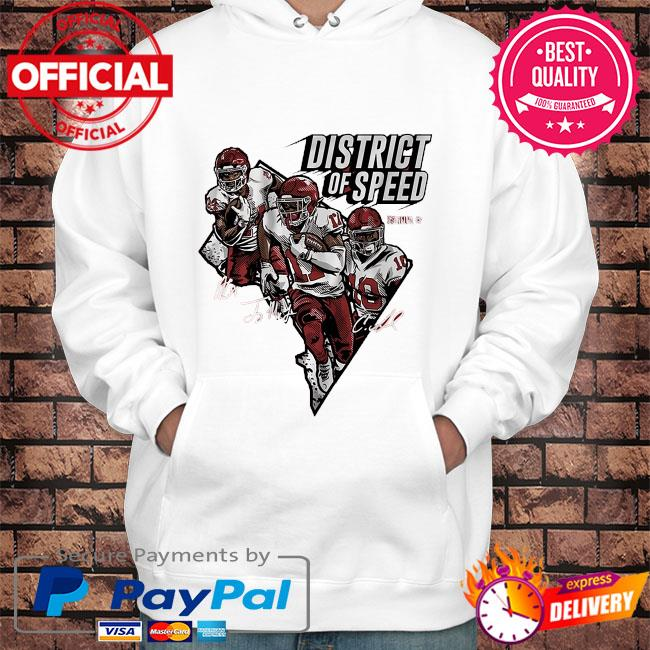 District of speed signatures s Hoodie white