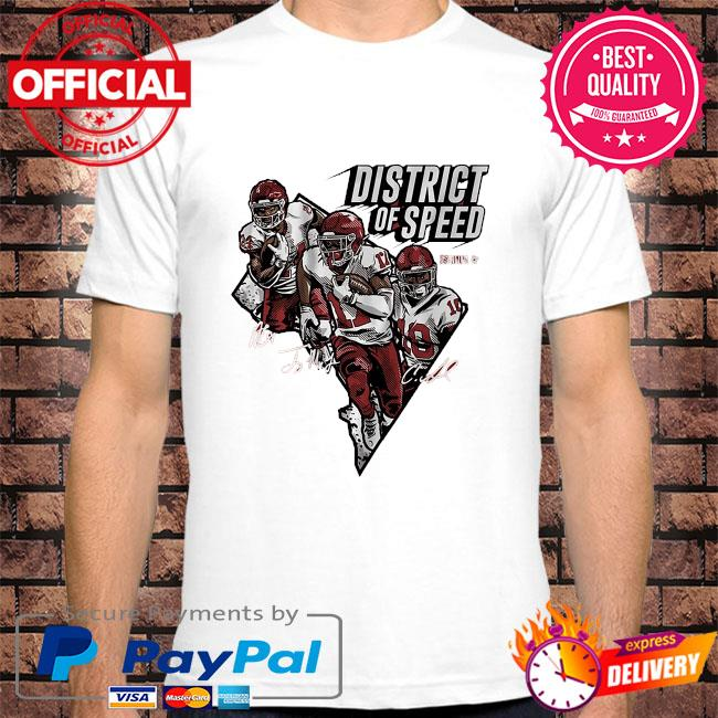 District of speed signatures shirt
