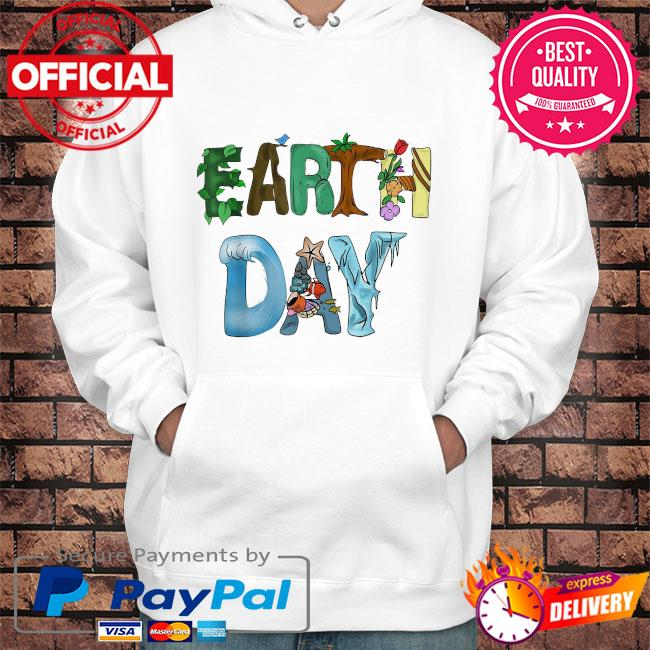 Earth day planet earth day us 2021 s Hoodie white