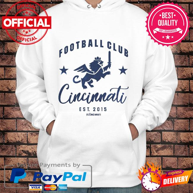 Football club cincinnati est 2015 s Hoodie white