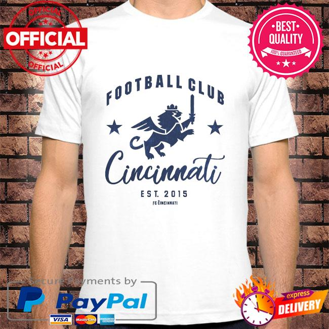 Football club cincinnati est 2015 shirt