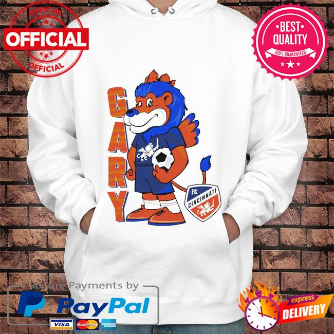Gary the lion adult raglan s Hoodie white