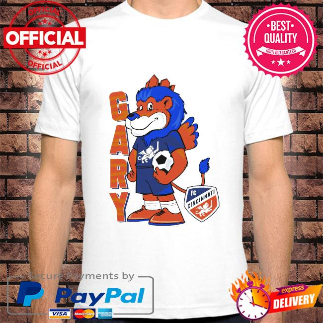 Gary the lion adult raglan shirt