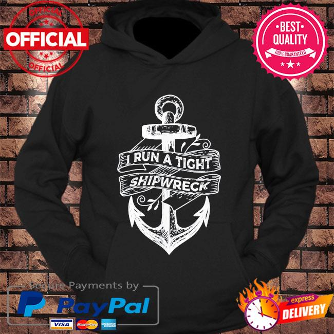 I run a tight shipwreck mother's day us 2021 s hoodie Black