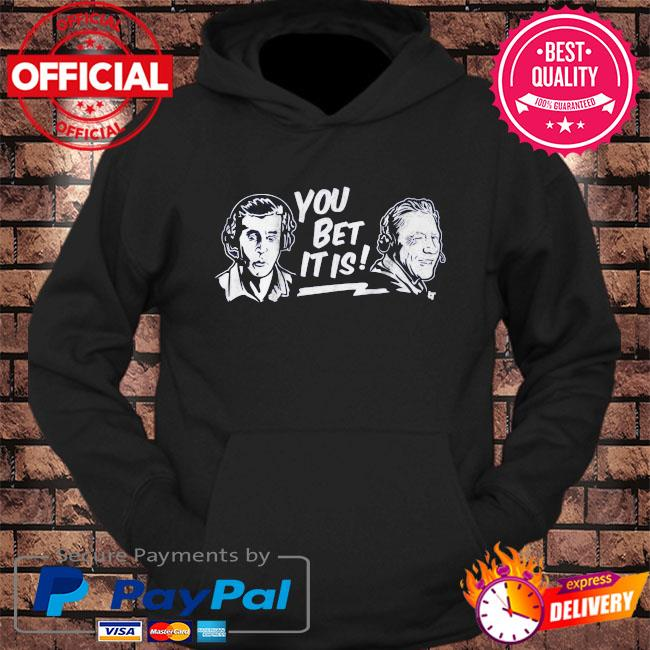 Joe davis and orel hershiser you bet it is s hoodie Black