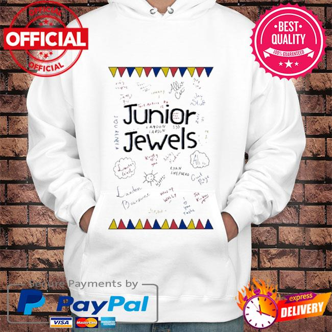 Junior jewels s Hoodie white