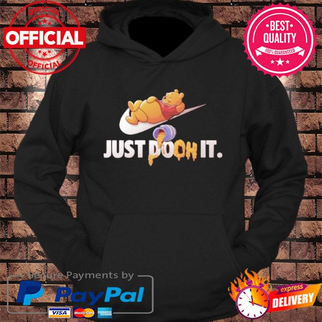 Just doon it pooh honey s hoodie Black