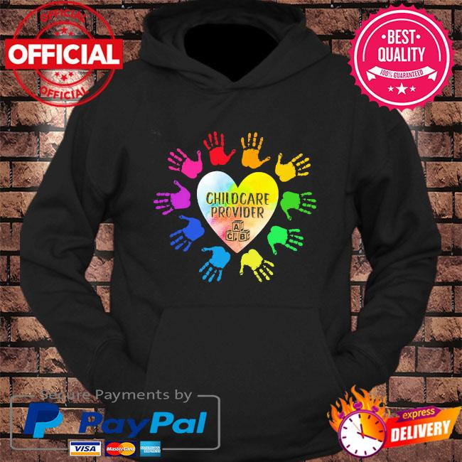 LGBT childcare provider s hoodie Black
