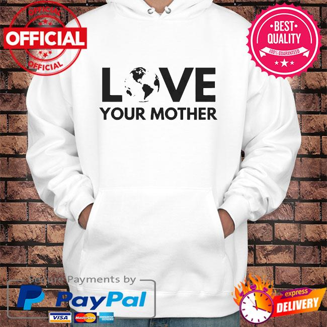 Love your mother s Hoodie white