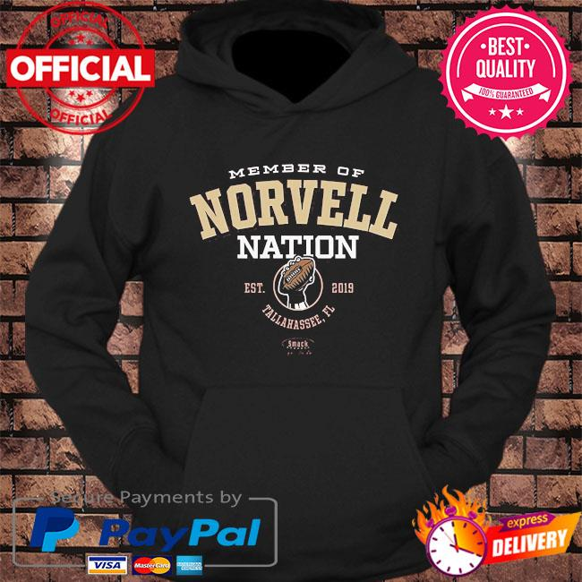 Member of novell nation est 2019 tallahassee fl s hoodie Black