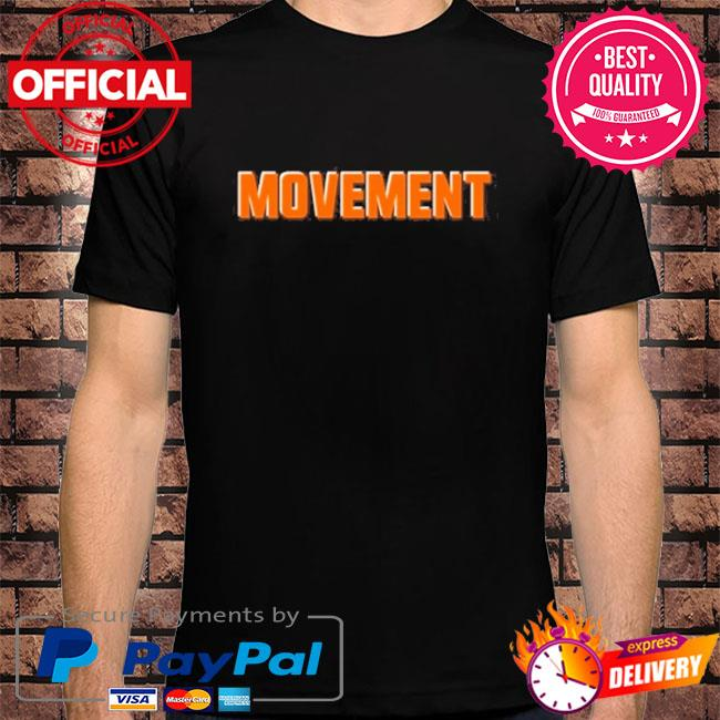 Movement cleveland football fan shirt