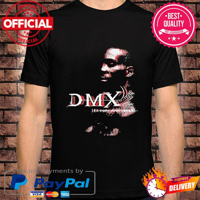 Official rip dmx it's dark and hell is hot shirt