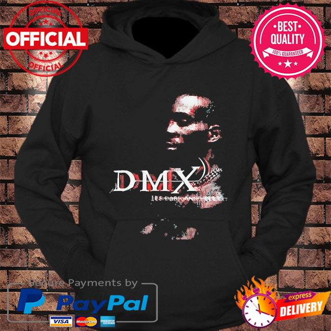 Official rip dmx it's dark and hell is hot s hoodie Black