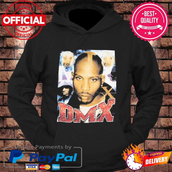 Official Rip Dmx Rapper and Dogs t-s hoodie Black