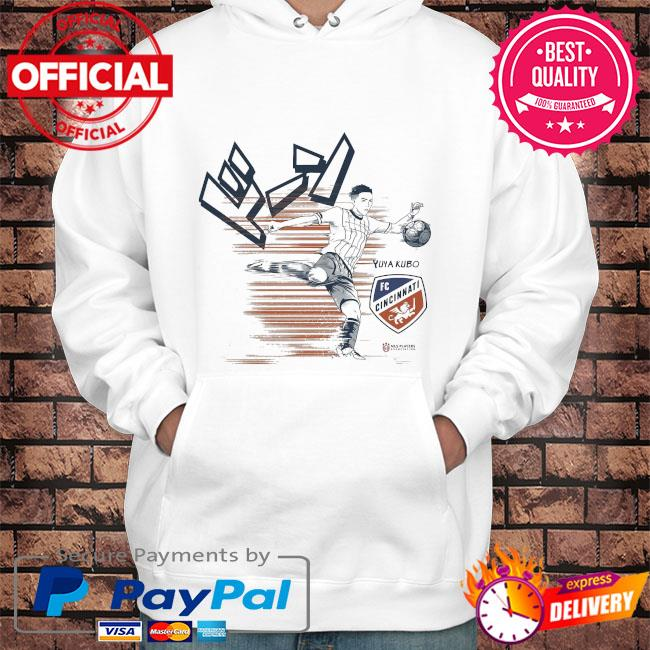 Official yuya kubo mlspa spotlight s Hoodie white