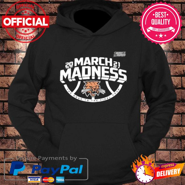 Ohio bobcats men's basketball 2021 march madness the road to the final four s hoodie Black