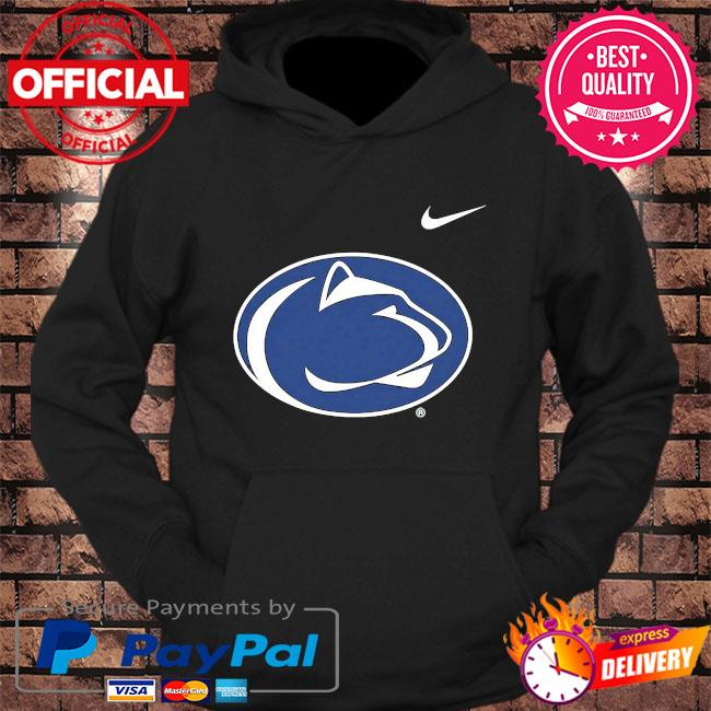 Penn state nittany lions nike newborn and infant logo bodysuit s hoodie Black