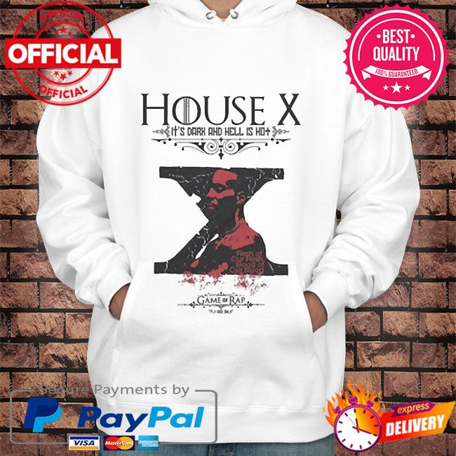 Rip dmx house x it's dark and hell is hot s Hoodie white