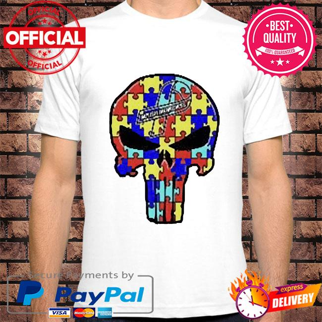 Skull Autism Autism Awareness shirt