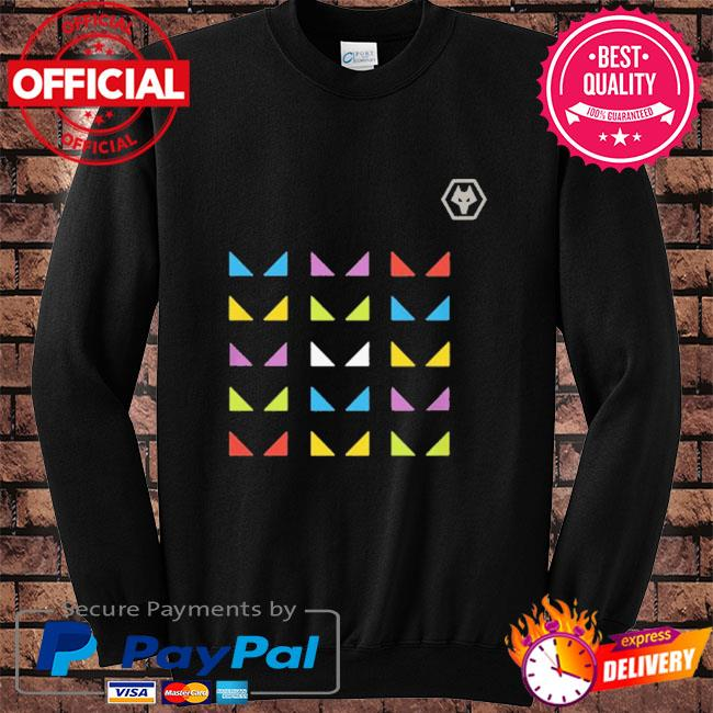 Wolves one pack warm up sure s Sweater black