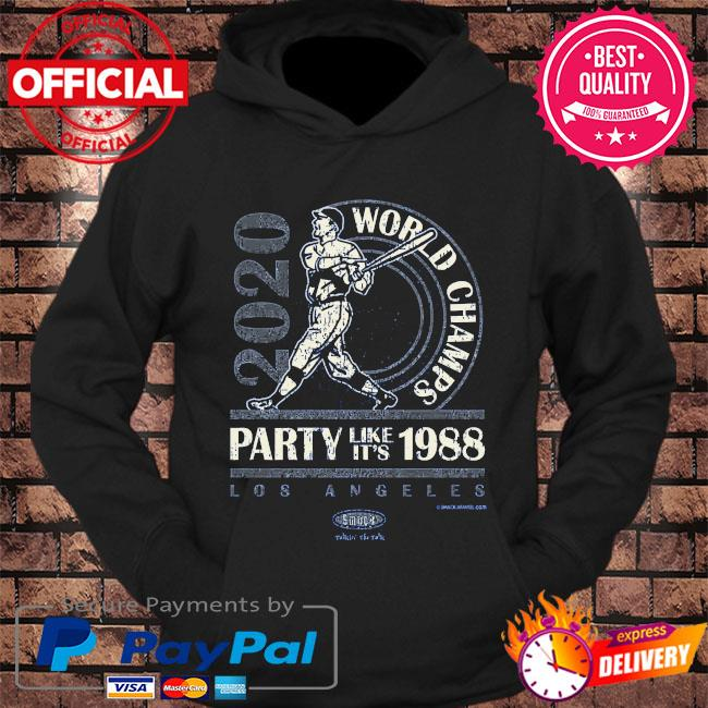 World champs party like it's 1988 s hoodie Black