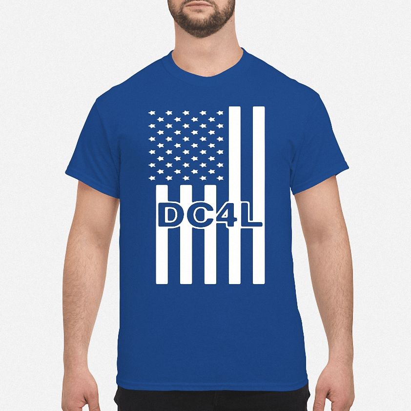 Dallas Cowboys for life DC4L American flag shirt