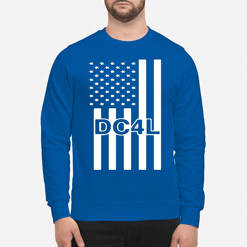 Dallas Cowboys for life DC4L American flag sweater