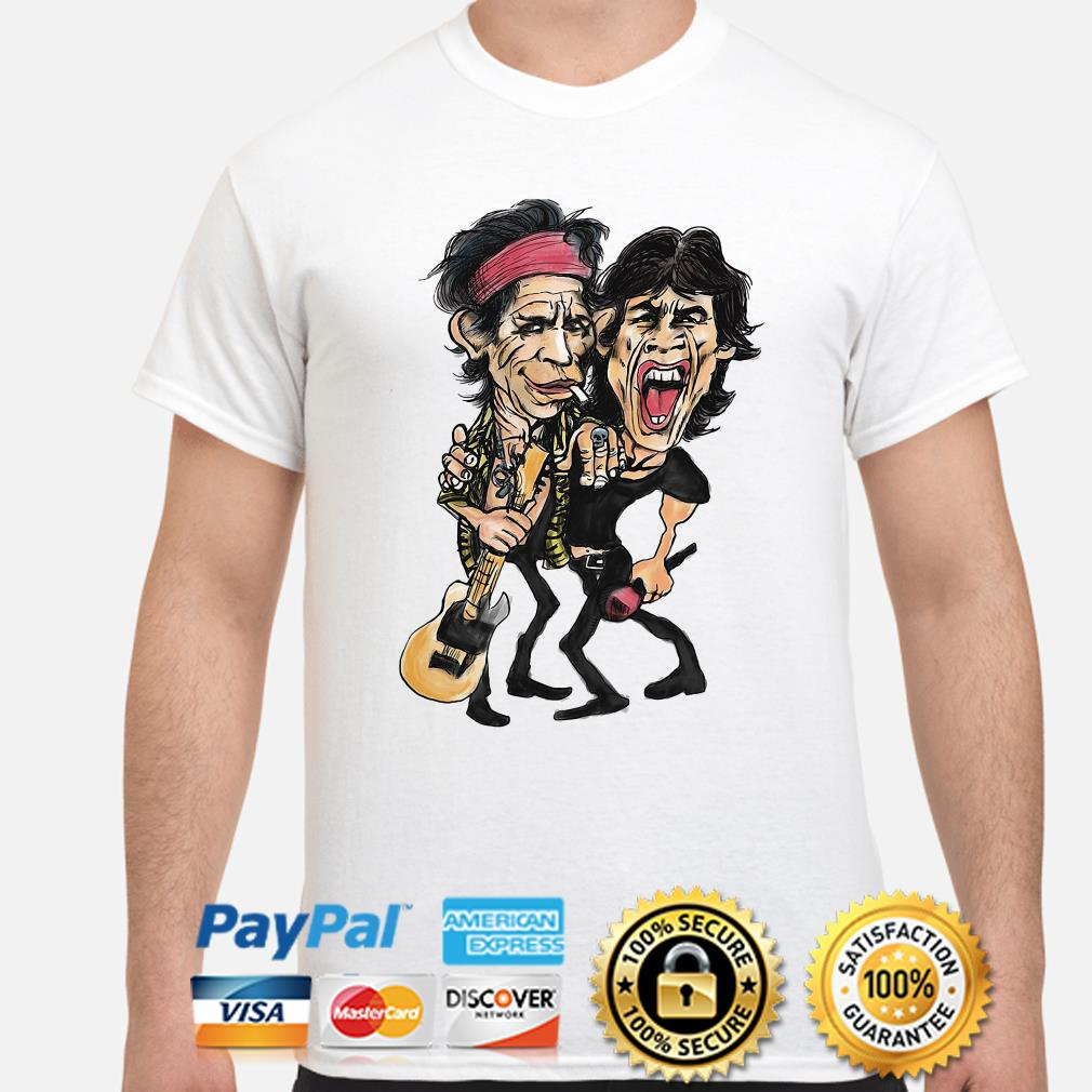 The Rolling Stone Ronnie Wood and Keith Richards shirt