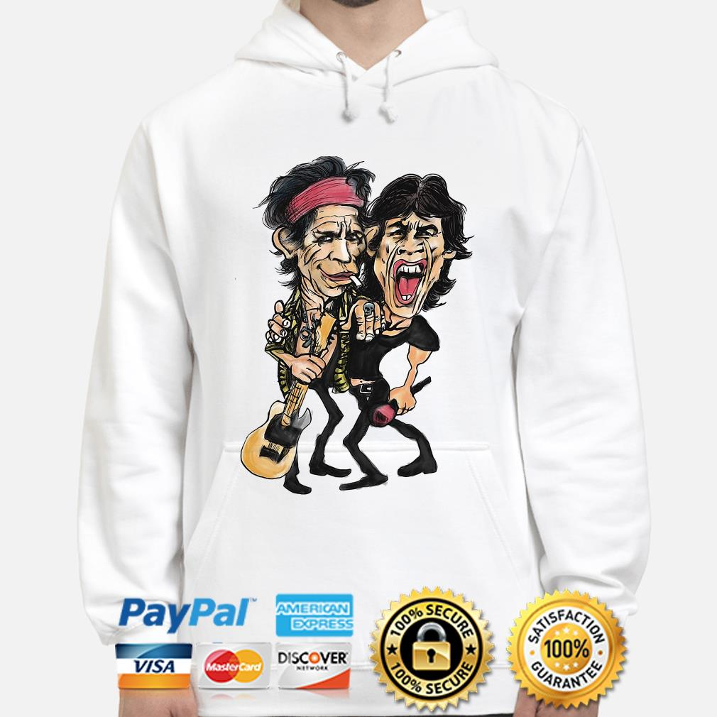 The Rolling Stone Ronnie Wood and Keith Richards hoodie