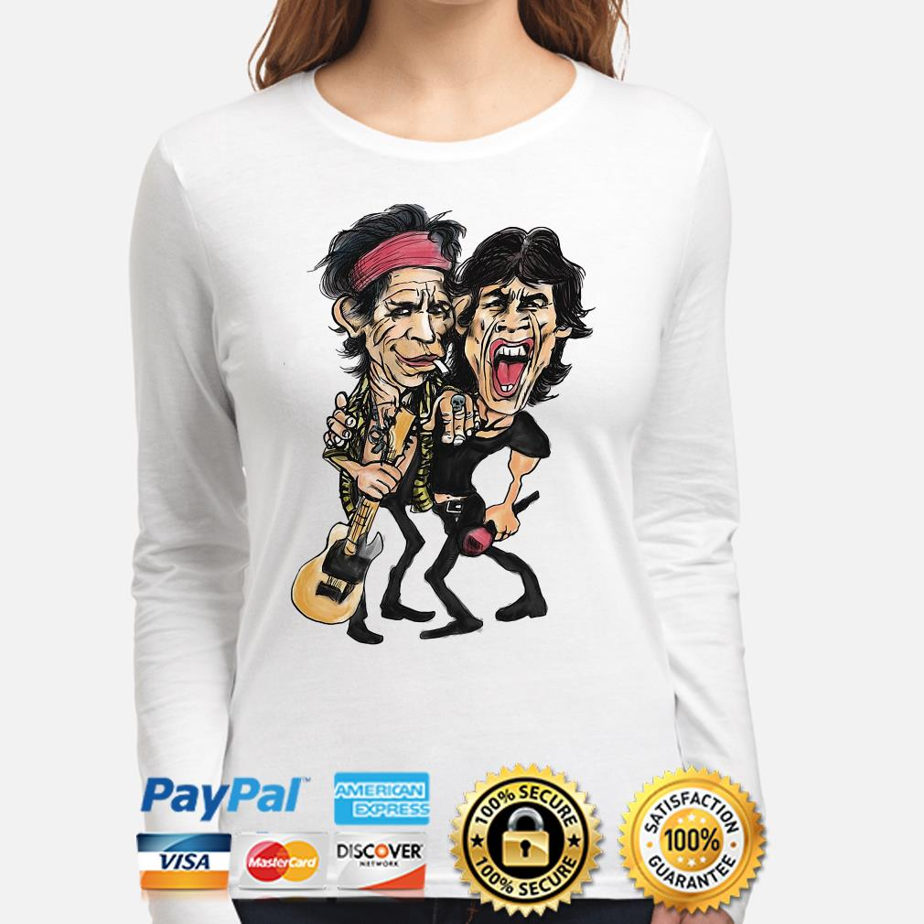 The Rolling Stone Ronnie Wood and Keith Richards long sleeve