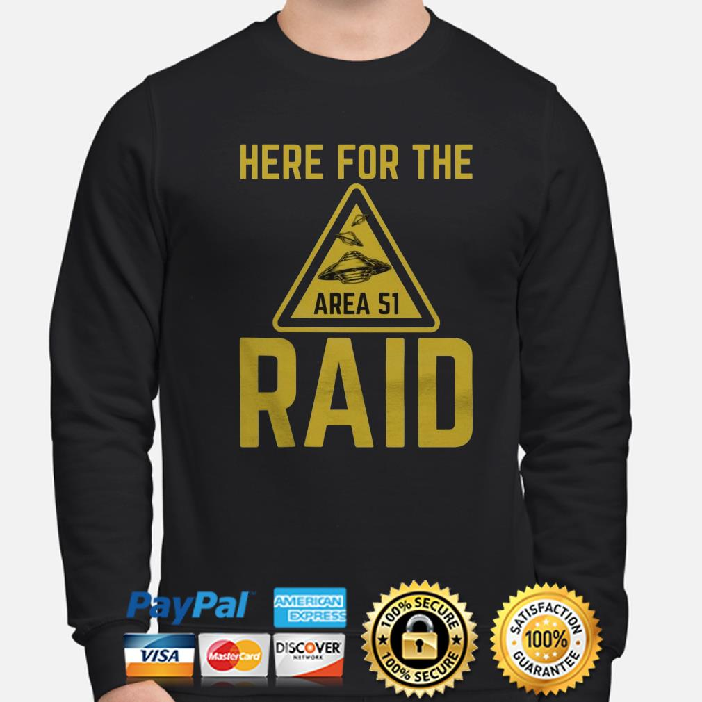 UFO here for the Area 51 raid sweater