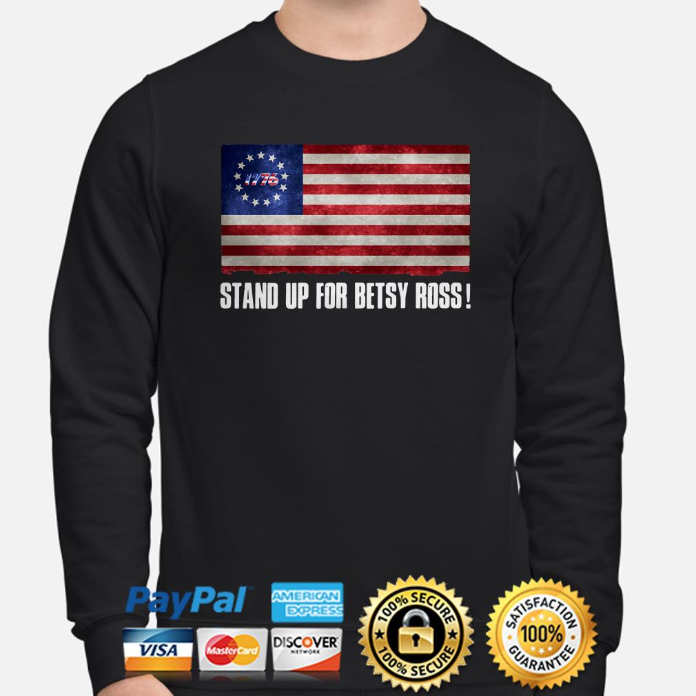 Stand up for Betsy Ross flag sweater