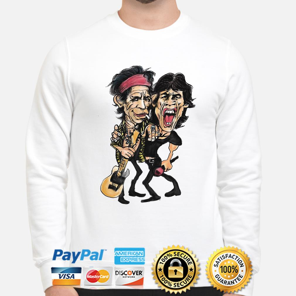 The Rolling Stone Ronnie Wood and Keith Richards sweater