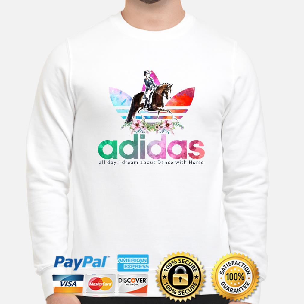Adidas all day I dream about dance with horse sweater