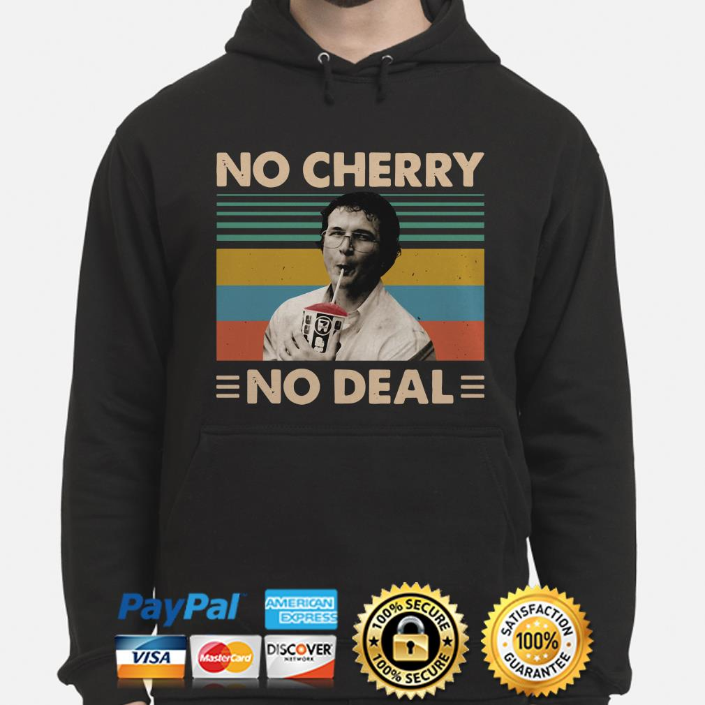 Alexei Stranger Things No Cherry No Deal vintage hoodie