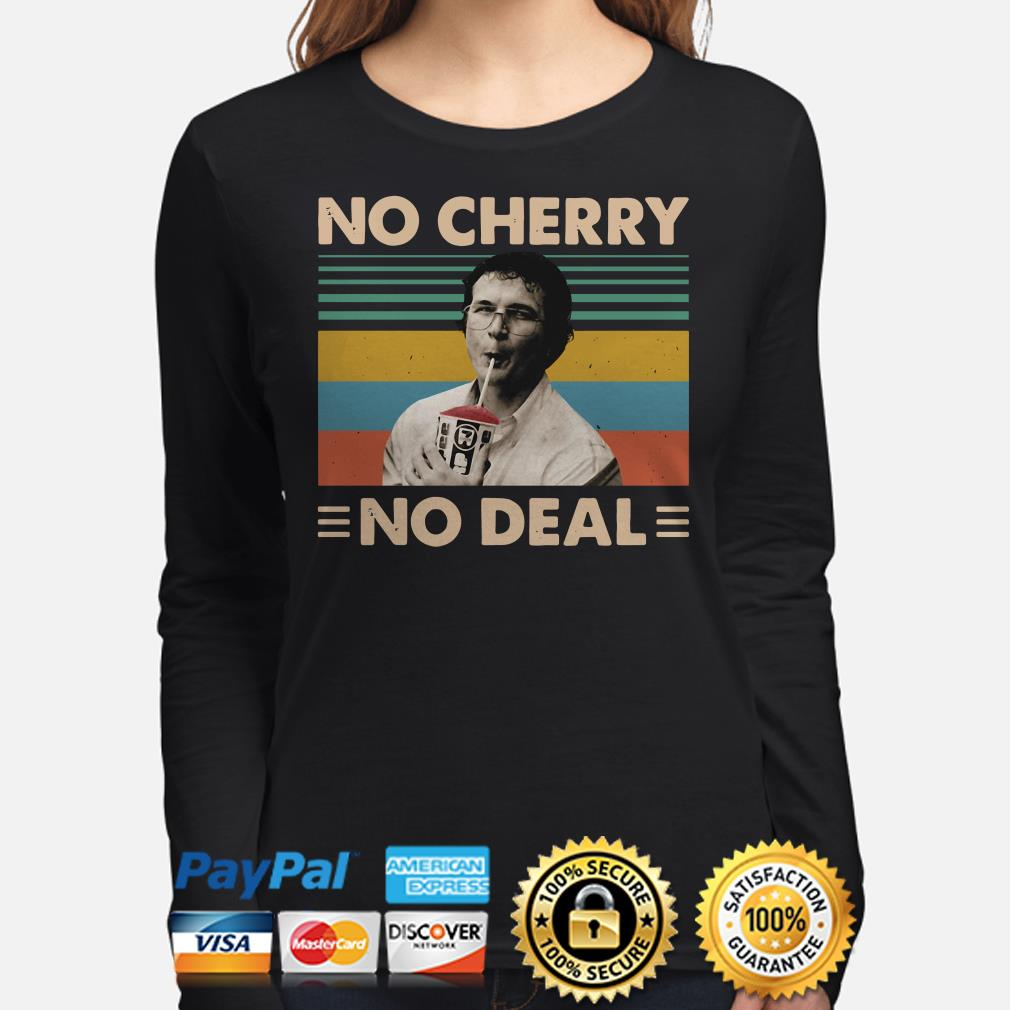 Alexei Stranger Things No Cherry No Deal vintage long sleeve