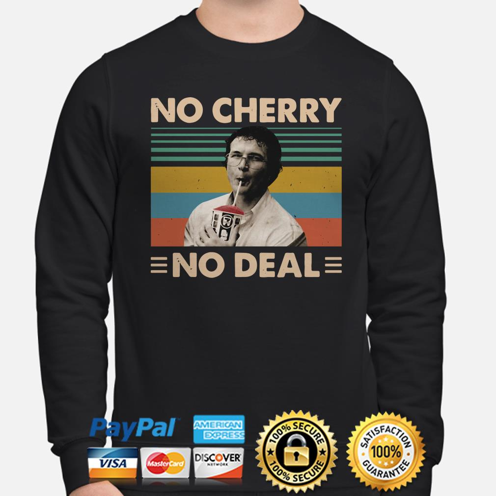 Alexei Stranger Things No Cherry No Deal vintage sweater
