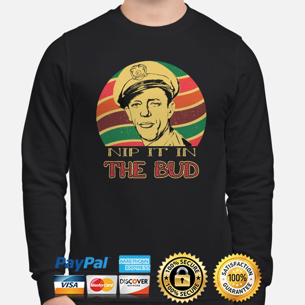Andy Griffith Nip It In The Bud Sunset sweater